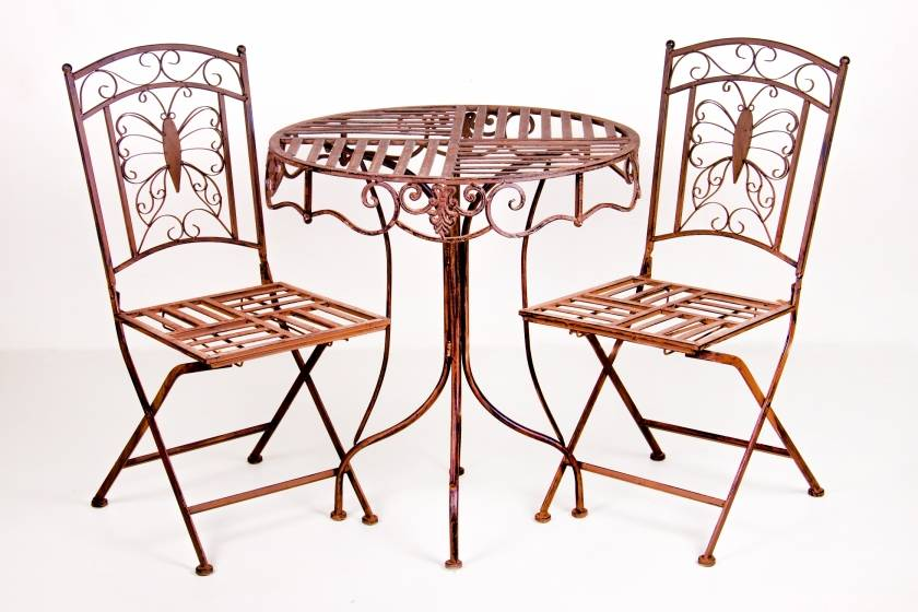 Table: Butterfly: Rust