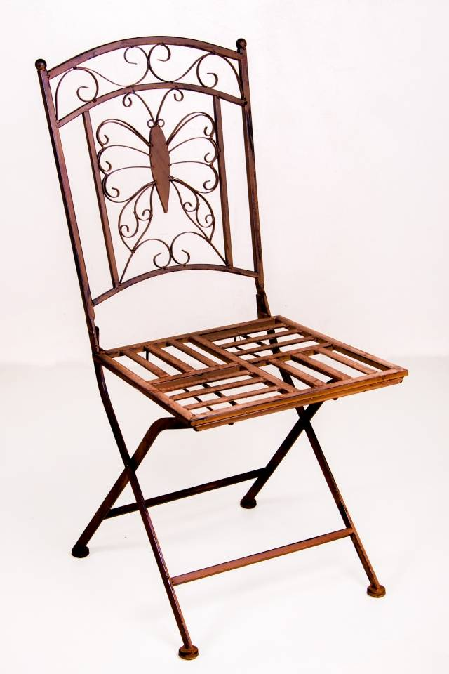 Chair: Butterfly: Rust