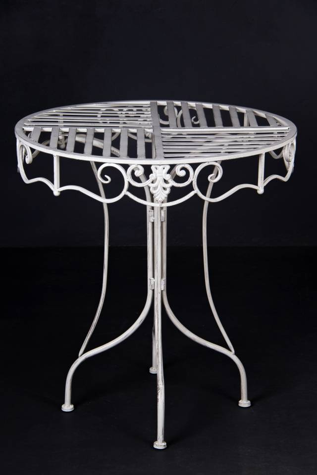 Table: Butterfly: Antique White