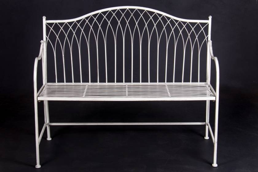 Bench:  Antique White