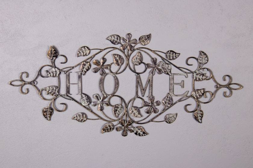 Wall Decor: Home: Antique Grey