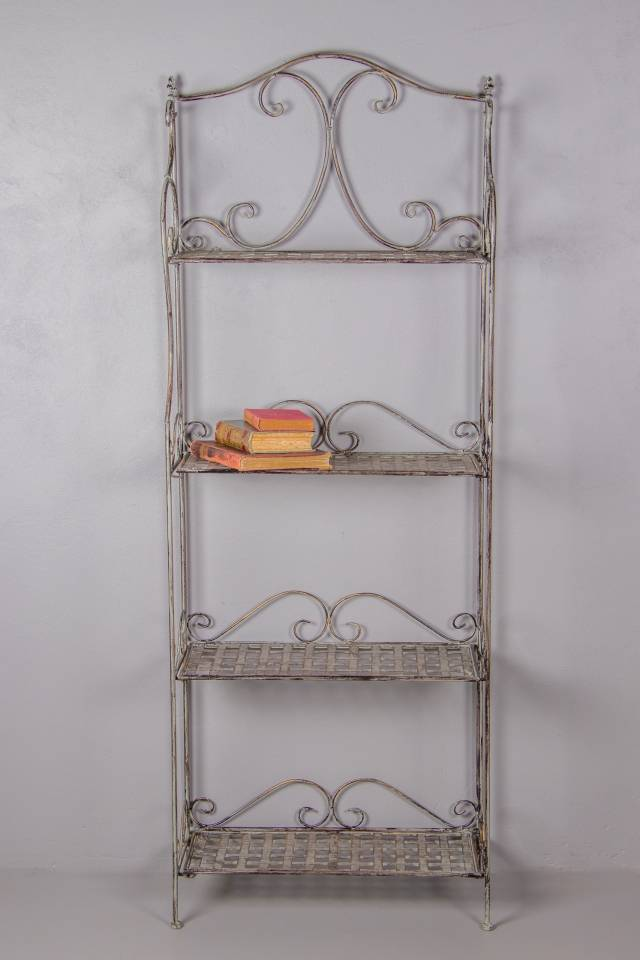 4 Shelf: Weave: Antique Grey