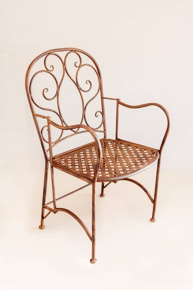 Chair: Vintage French: Rust