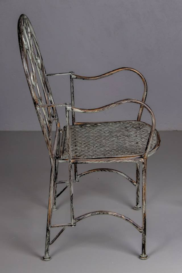 Chair: Vintage French: Antique Grey