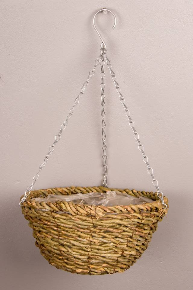 Hanging Basket: Rattan: Medium