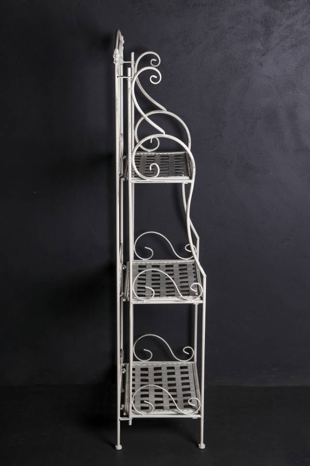 3 Shelf: Medium: Weave: Antique White