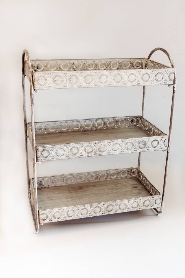 Stand 3 Tray: Antique Grey
