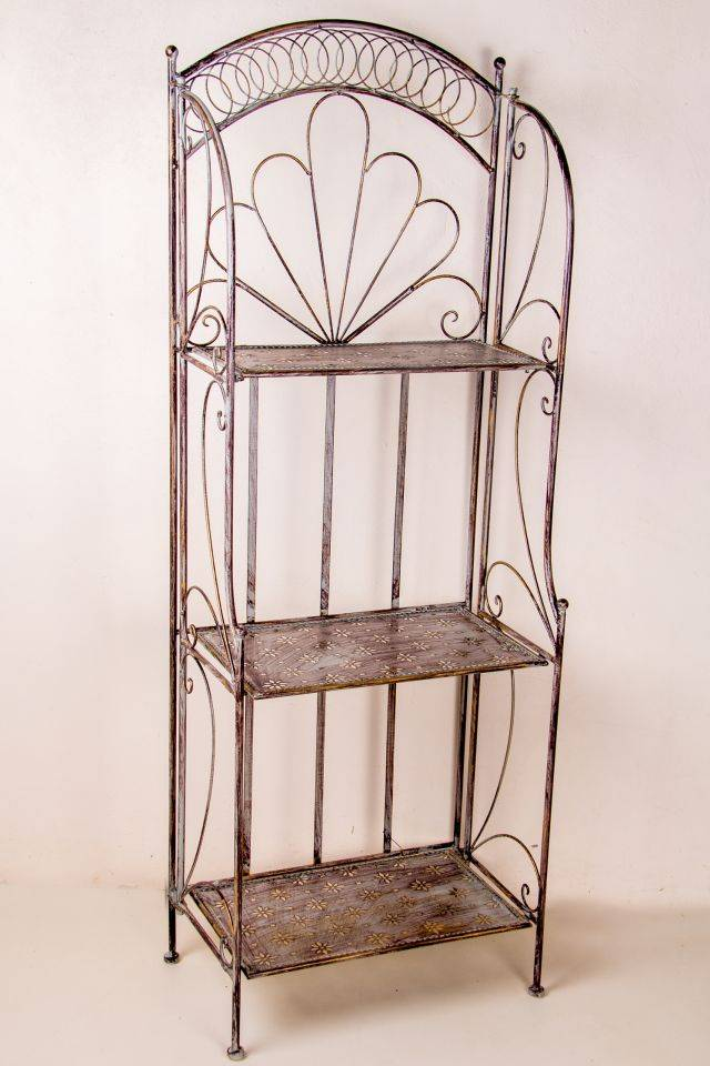 Wall: 3 Shelf: Medium: Antique Grey