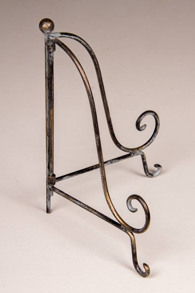Picture/Book Stand: Antique Grey